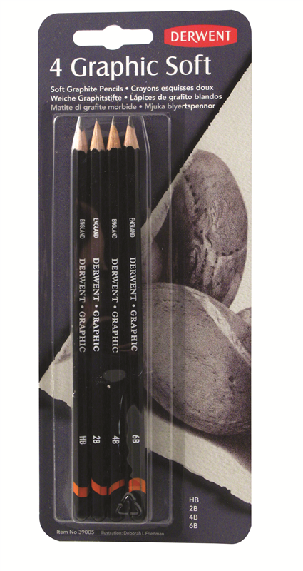 Graphic Soft Pencil Blister (4)