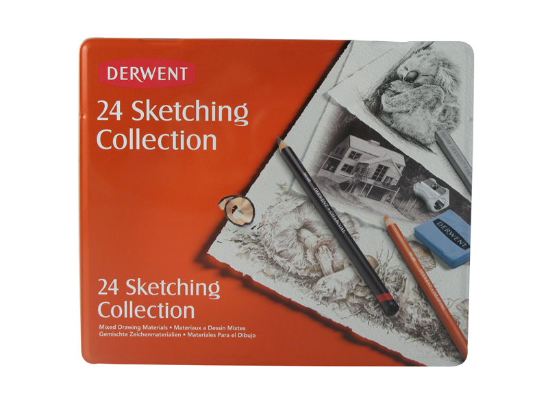 Sketching Collection 24 Tin